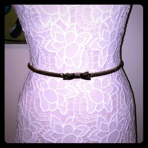 Gold toned metal stretch belt from Nordstrom